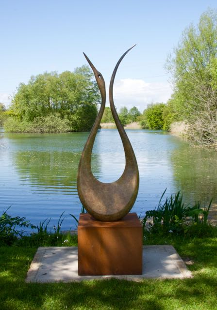 """Lyrebird"" Sculpture on the Lakes"