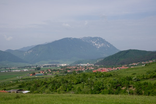 My main destination - Piatra Craiului and the small town of Zarnesti