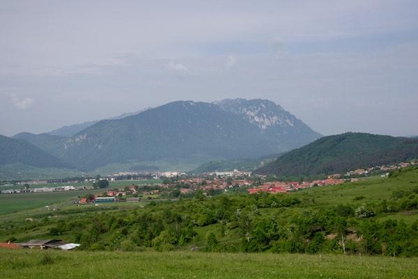 My main destination - Piatra Craiului and the small town of Zarnesti
