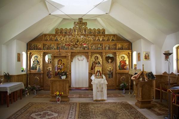 14 monastery interior