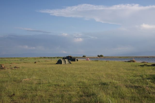 Khar Nuur campsite