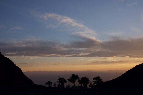 20. JHU sunset down valley
