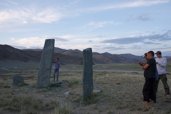 We stopped at this small commplex of standing stones for a break and photo op