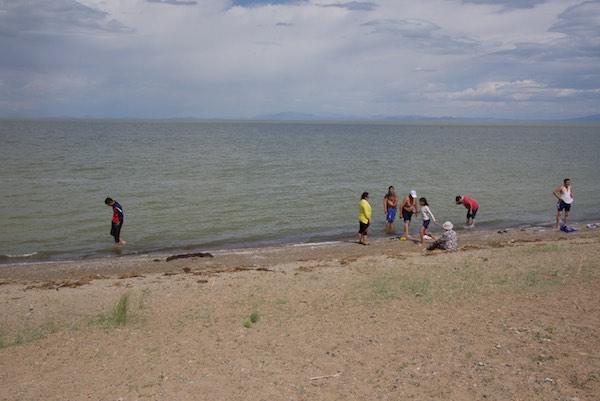 31. KUN at the beach