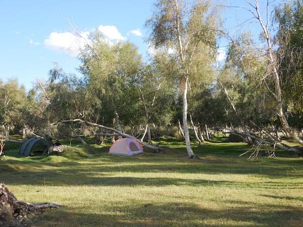 Our beautiful campsite
