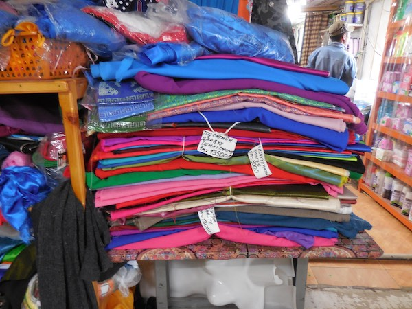 Fabric temptations, but I managed to resist
