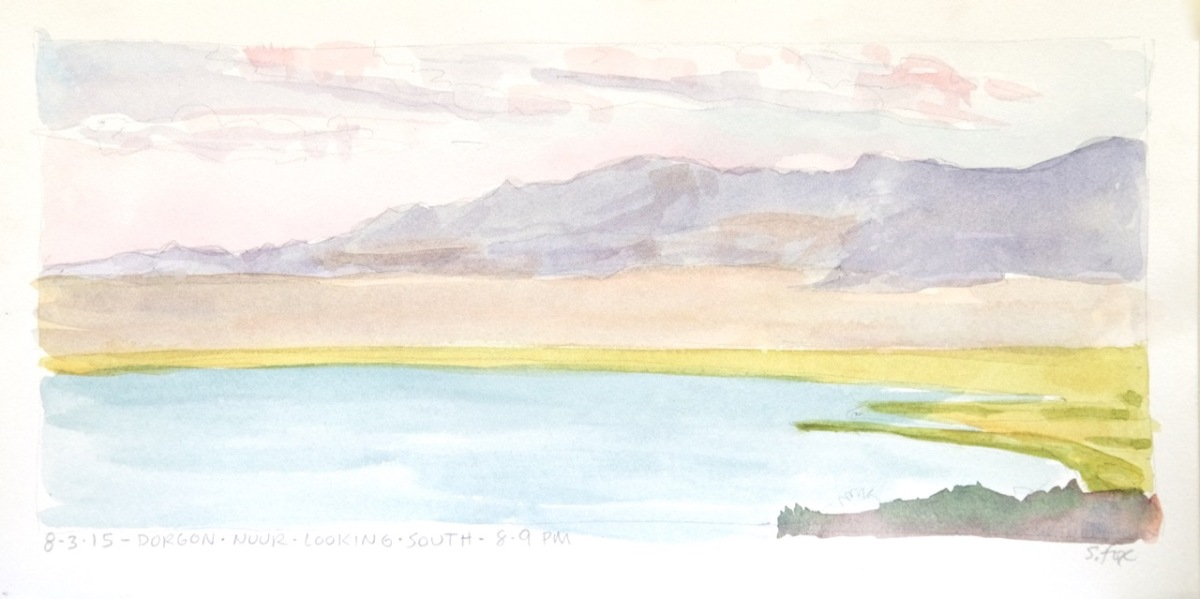 Dorgon Nuur, looking south, Khar Us Nuur National Park