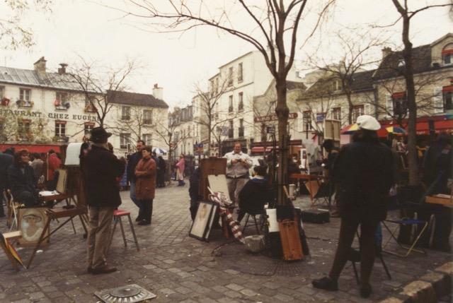 paris artists
