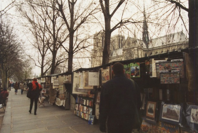 paris street vendors