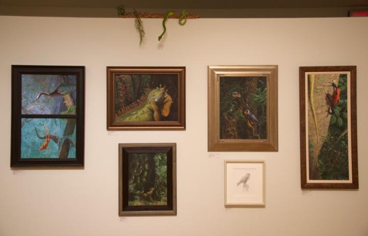 Carel Brest van Kempen's work. And the snake. Seemed appropriate.
