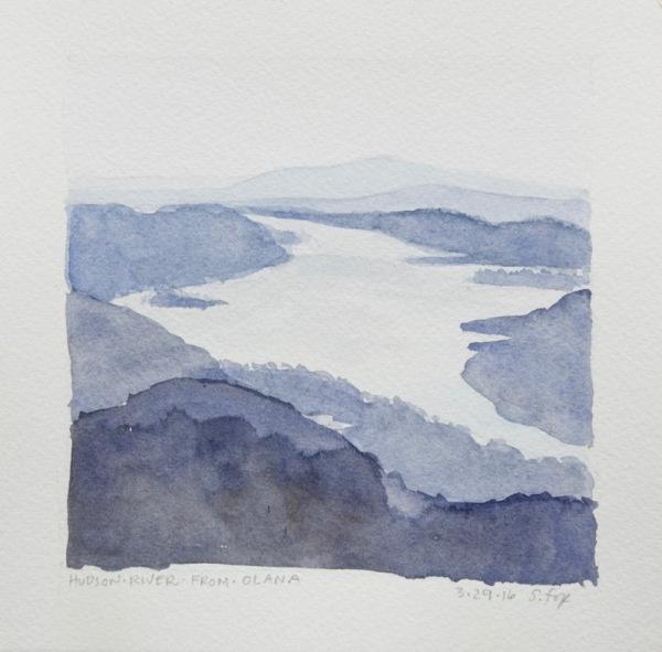Hudson River from Olana