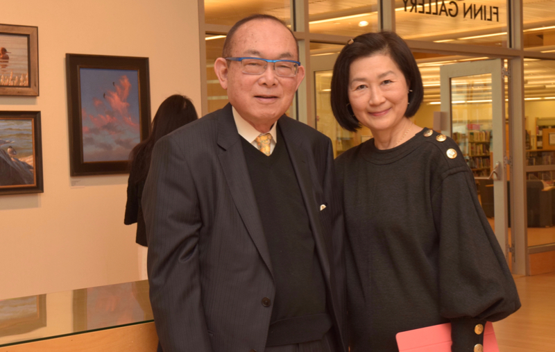 Lillian Tung Lum and guest