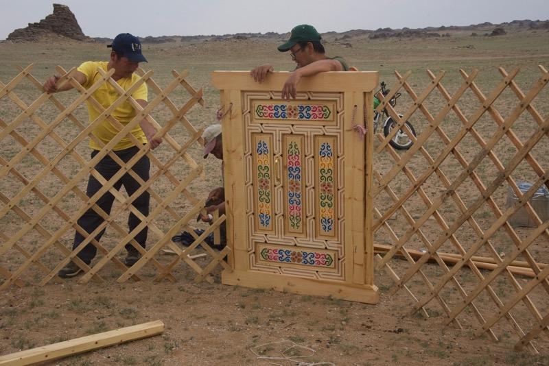 14. installing the door