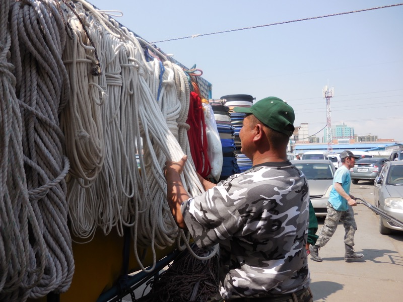Choosing sturdy rope