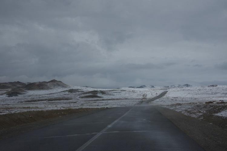 14. snowy road