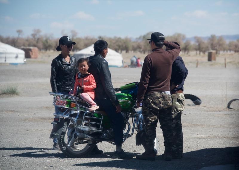 27. Batana, motorbike kid