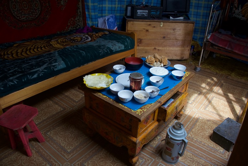 6. Mongolian hospitality