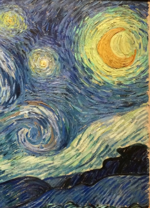 starry night detail