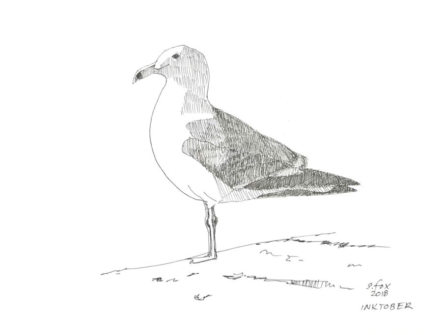 Inktober 10- Gull